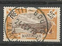 MARTINIQUE  N° 96 CACHET PETIT BOURG - Oblitérés