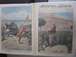 # DOMENICA DEL CORRIERE N 17 / 1934 ALPINI A ROMA / DIRETTISSIMA BOLOGNA FIRENZE - Prime Edizioni