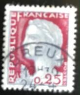 France - République Française - W1/13 - (°)used - 1960 - Michel 1316 - Marianne Type Decaris - Dreux - Usati