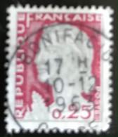 France - République Française - W1/13 - (°)used - 1960 - Michel 1316 - Marianne Type Decaris - Bonifacio - Usati