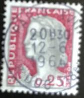France - République Française - W1/13 - (°)used - 1960 - Michel 1316 - Marianne Type Decaris - Paris - Usati