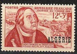 Année 1956-N°333 Neuf**MNH : Journée Du Timbre (François De TASSIS) - Nuovi