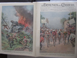 # DOMENICA DEL CORRIERE N 23 / 1934 GIRO D'ITALIA / MILANO ITALIA AUSTRIA AZZURRI VITTORIOSI - Prime Edizioni