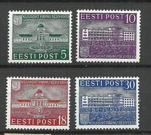 Estland Estonia Estonie 1939 Kurort Pärnu Pernau Michel 148 - 151 MNH - Estonia