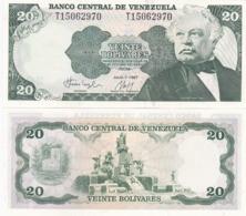 Venezuela - 20 Bolivares 1987 UNC Pick 64A Lemberg-Zp - Venezuela