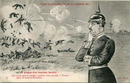 1915 SMB Humor Kaart Naar Bordeaux - A Propos D'un Nouveau Facteur - War 1914-18