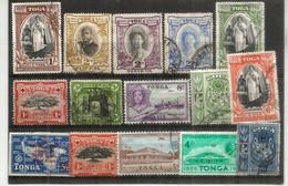 ILES TONGA.,lot Of Fine Used Stamps (15),oblitérés 1ÈRE QUALITÉ, Inclus Bonnes Valeurs , Année 1897,1921.etc  # 3 - Lots & Kiloware (max. 999 Stück)