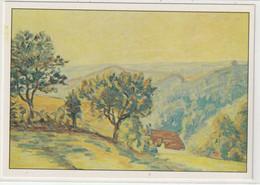 CHROMOS Tableau 33 : Paysage De 1892 Huile Sur Toile De Guillaumin Armand Né A Paris 1841 Mort A Paris 1927 - Otros