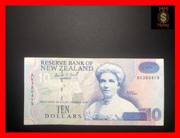 NEW ZEALAND  10 $  1992  P. 178     VF ++ - New Zealand