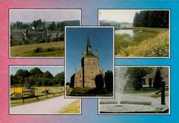 SUGNY Multivue. Eglise, Lac, Jet D'eau, Vue Du Village, Plaine De Jeu - Vresse-sur-Semois