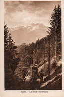 Cpa Suisse Leysin Train Electrique - Other