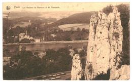 CPA Carte Postale Belgique-Yvoir- Les Rochers De Warenne Et De Champalle-1929 VM34937 - Yvoir