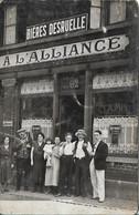 A L' Alliance ( Nord  Bières  Desruelle ) - Caffé