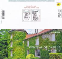 FRANCE :souvenir De DE GAULLE : Y&T : BF ** - Foglietti Commemorativi