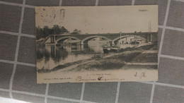 CPA - LAGNY - 2. Le Pont De Pierre - Lagny Sur Marne