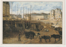 CHROMOS Tableau 39 : Percée De L'avenue De L'Opéra Paris Huile Sur Toile De Nittis Giuseppe ( Peintre Italien ) - Otros