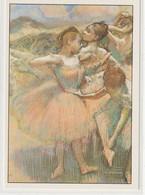 CHROMOS Tableau 40 : Danseuses Vert Et Saumon Huile Sur Toile Vers 1897 De Degas Edgar - Otros