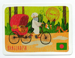"""YoYo Bear """"Around The World In 80 Days"""" Cards  Day 46 BANGLADESA - Unclassified"""