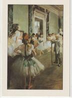 CHROMOS Tableau 41 : La Classe De Danse Huile Sur Toile 1874 De Degas Edgar - Otros
