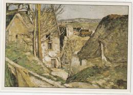 CHROMOS Tableau 42 :; La Maison Du Pendu Huile Sur Toile 1870 De Cézanne Paul - Otros