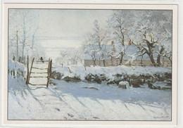 CHROMOS Tableau 43 : La Pic Huile Sur Toile Vers 1867 De Monet Claude - Otros