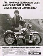 Publicité Papier MOTO YAMAHA TY 50 ML 1978 SP1053769 - Publicités