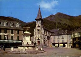 France > [64] Pyrénées-Atlantiques > Laruns > La Place De L'église / 117 - Laruns