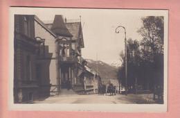 OLD PHOTO POSTCARD - NORWAY - TOMSO - 1922 - Noruega