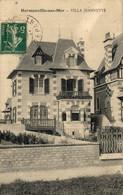 N°702 K -cpa Hermanville Sur Mer -villa Jeannette- - Sonstige Gemeinden