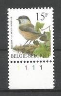 OCB 2695 Postfris Zonder Scharnier ** Met Plaatnummer 1 - 1985-.. Vogels (Buzin)