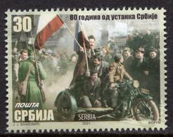 Serbia 2021 - 80 Years Since The Serbian Uprising - MNH Set - Serbia