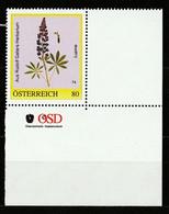 Personalisierte BM Rudolf Gallers Herbarium Lupinie ** Postfrisch - Private Stamps