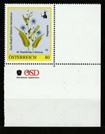 Personalisierte BM Rudolf Gallers Herbarium Wegwarte 42. Rupertikirtag In Salzburg** Postfrisch - Private Stamps
