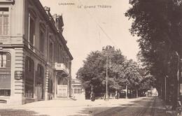 CPA  Suisse, LAUSANNE,  Le Grand Theatre, Carte Photo - VD Vaud
