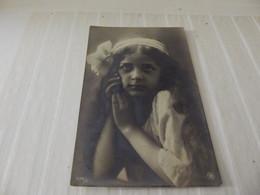 Cpa Fantaisie Portrait D'une Petite Fille - Retratos