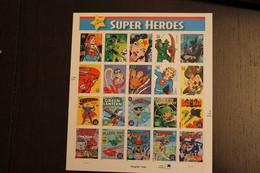 USA 2006; Super Heroes (I); Folienbogen, Sk, MiNr  4136-55, MNH - Sheets