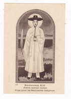 Rare Image Pays De Missions Prêtre Martyr Coréen Bienheureux André Kim - Imágenes Religiosas