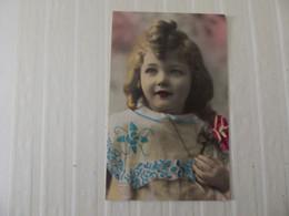 Cpa Fantaisie Portrait Jeune Enfant - Retratos