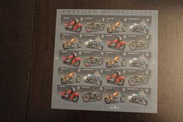 USA 2006; Motorräder; Folienbogen, Sk, MiNr  4157-60, MNH - Ganze Bögen