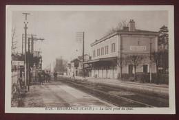 CPA  91....  La Gare De Ris Orangis - Ris Orangis
