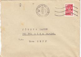 GOOD ESTONIA Postal Cover 1978 - Good Stamped - Tallinn To Aidu - Estonia