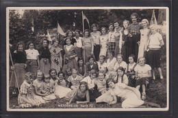 B62 /   Foto AK Kinderdorf Wegscheide B. Bad Orb 1933 WHW BDM Bommel / Mädchen - Otros