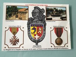 LA CHAPELLE EN VERCORS — Brigade De La Chapelle En Vercors - Regimenten