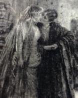 COPPIA LESBO - FESTA E BALLI TRA DONNE - CARTOLINA VIAGGIATA DA NAPOLI A VENEZIA 17/12/1916 - Parejas