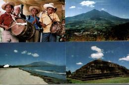 SALVADOR BANDA MUSICAL FOLKLORICA  PLAYA EL TAMARINDO VOLCAN CHICHONTEPEC RUINAS EL TAZUMAI - El Salvador