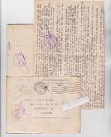MARCOPHILIE - 60 - COMPIEGNE 1942, FRONTSTALAG 122 Courrier Adres Au Camp Allemand De Royallieu, Oblitérations, Militar - Oorlog 1939-45
