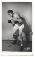 BOXE- Photo Autographe 8,5x14  Pierre MONTANE  (Toulouse)... - Sporten