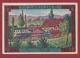 Allemagne 1 Notgeld  De 25 Pf  Stadt  Weddersleben  ( RARE) Dans L 'état   Lot N °340 - Collections