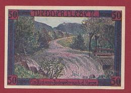 Allemagne 1 Notgeld  De 50 Pf  Stadt  Weddersleben  ( RARE) Dans L 'état   Lot N °341 - Collections