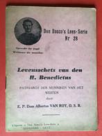 BOEKJE - LIVRE Levensschets Van Den H. BENEDICTUS - 56 Blz - Anno 1942 - Sin Clasificación